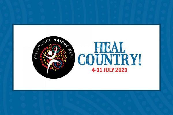 NAIDOC Week banner Heal Country